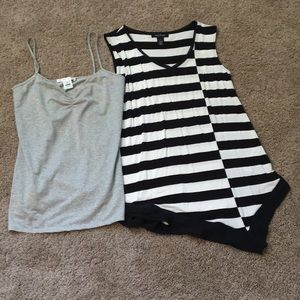 White House black market two piece lot size small